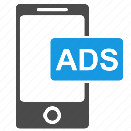 ads, advertising, marketing, media, mobile, phone, seo icon