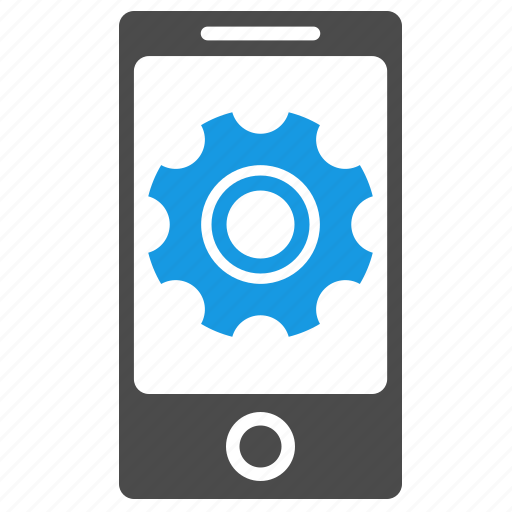 configuration, device, gear, marketing, mobile optimization, options, phone, seo, settings, tools icon