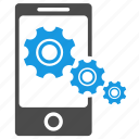 configuration, device, gears, mobile optimization, mobile seo, phone, seo, settings, tools icon