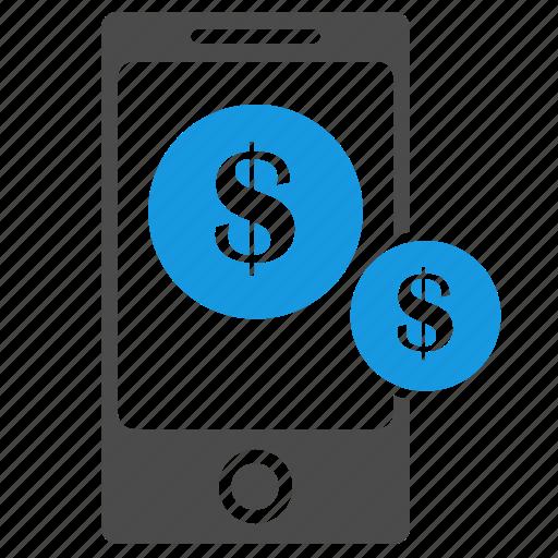 banking, business, cash, dollar, ecommerce, finance, marketing, money, phone, seo icon