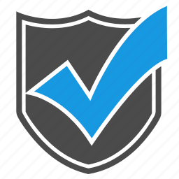 accept, antivirus, brand, checkmark, firewall, seo, shield icon