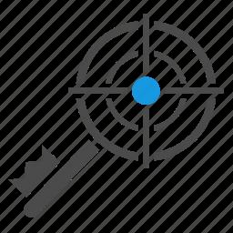 aim, goal, key, keyword engine, keywords, optimization, seo, targeting icon