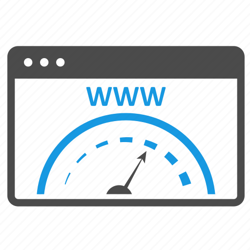 browser, connection, dashboard, network, optimization, page speed, seo, speedometer, website icon