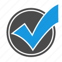 accept, approve, check, checkmark, done, ok, seo, sign, success, valid icon