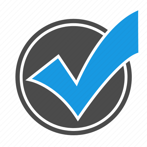 accept, approve, check, checkmark, done, ok, seo, sign, success, valid icon
