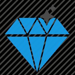 brilliant, clean code, development, diamond, html, optimization, programming, seo icon