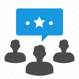 avatar, businessman, chat bubble, dialog, group, management, people, seo, support, team icon
