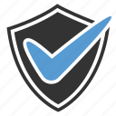 checkmark, protect, shield
