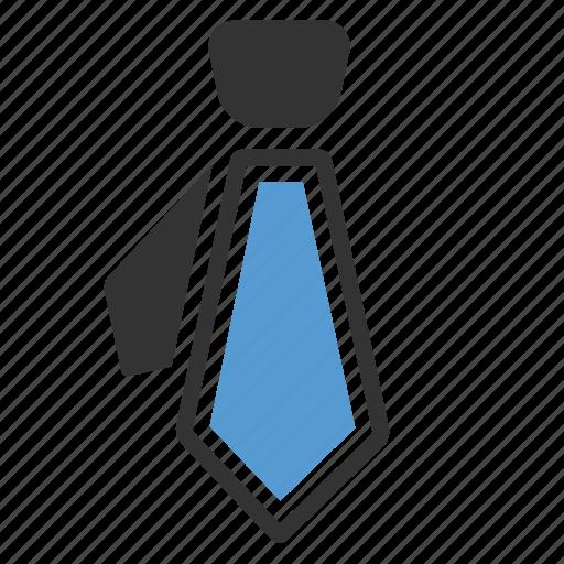 businessman, company, job, portfolio, respect, tie, work icon