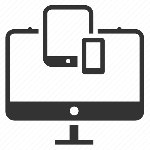 computer, devices, gadget, mobile, responsive, screen, tablet icon