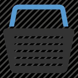 bag, basket, cart, checkout, ecommerce, finance, online shopping icon