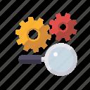 cogs, marketing, search engine, seo, service, setup, web
