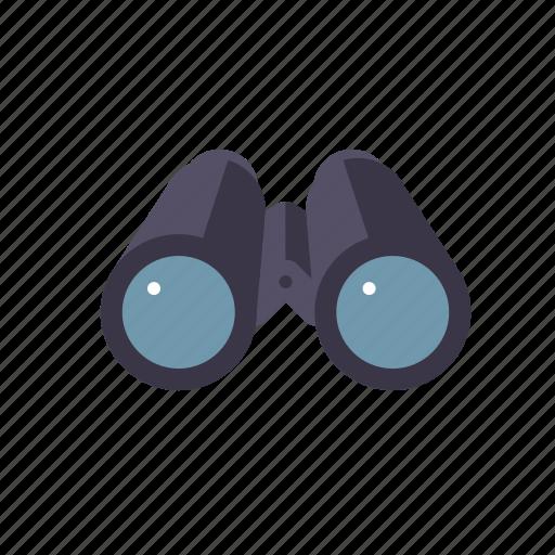 binoculars, marketing, observation, seo, service, surveillance, web icon