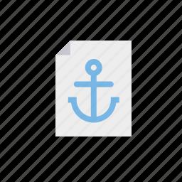 anchor text, anchor word, marketing, seo, service, web icon