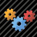 cogs, installation, marketing, seo, service, setup, web