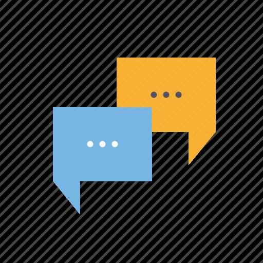 chat bubbles, marketing, messenger, seo, service, testimonials, web icon