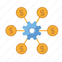 affiliates, cog, marketing, money, seo, service, web