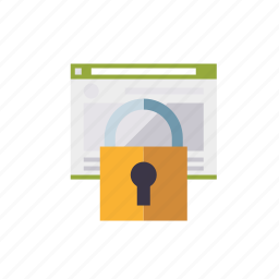 encryption, lock, marketing, security, seo, service, web icon
