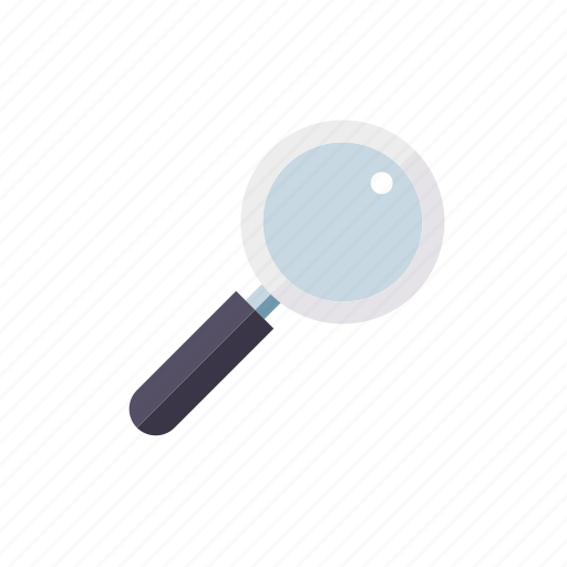 magnifying glass, marketing, searching, seo, service, web icon