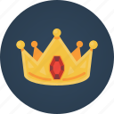 crown, king, reward, rubis, search engine optimization, seo, success icon