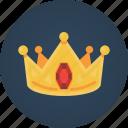 crown, king, reward, rubis, search engine optimization, seo, success icon