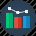 graph, increase, optimize, ranking, rankings, search engine optimization, seo icon