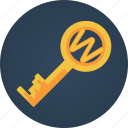 key, search engine optimization, seo, web, web solution icon