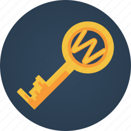 key, search engine optimization, seo, web, web solution icon