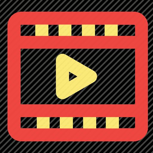 video, video marketing, video optimization icon
