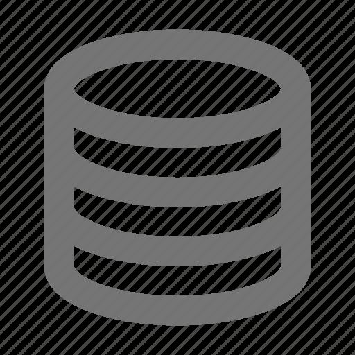cloud, database, hosting, internet, network, server, storage, web icon