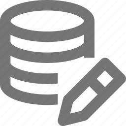 edit, pen, server icon