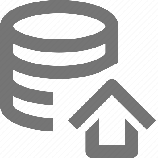 cloud, database, home, house, network, server, storage icon