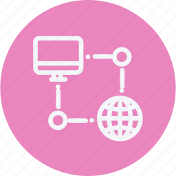 cloud, network, server, sign, storage, technology icon