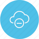 network, storage, server, sign, technology, cloud icon