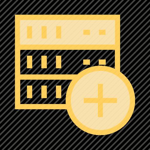 Add, database, mainframe, server, storage icon - Download on Iconfinder