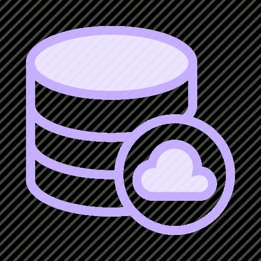 cloud, database, datacenter, server, storage icon
