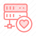 datacenter, favorite, mainframe, server, storage icon