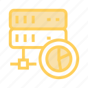 chart, datacenter, graph, server, storage