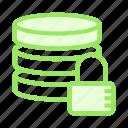 database, lock, protection, secure, server