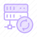 datacenter, mainframe, reload, server, storage icon