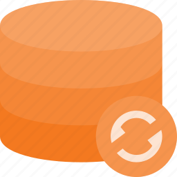 data, database, refresh, server, storage icon