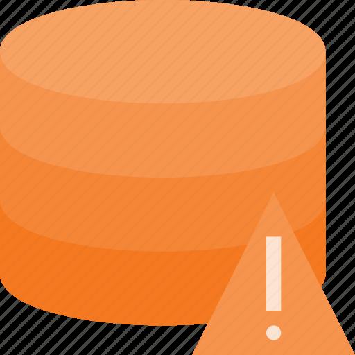 allert, data, database, server, store icon