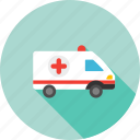 ambulance car, clinic, emergency, hospital van, medicine, patient transport, rescue icon