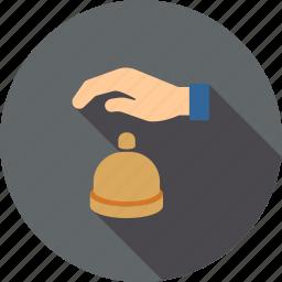 alarm, bell, call, communication, jingle, ring, signal icon