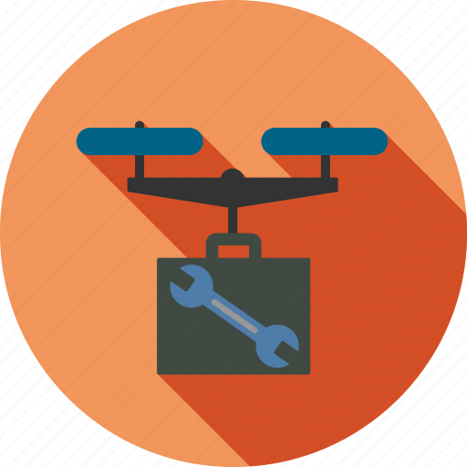airdrone, control, copter, drone, repair, service, tools icon