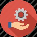 engineering, gear, repair, service, settings, tools, business