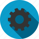 gear, control center, desktop settings, factory, support, system tools, work