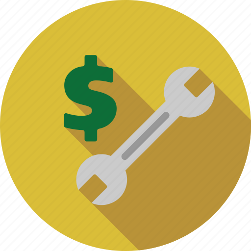 configuration, cost, preferences, price, repair, settings, tools icon