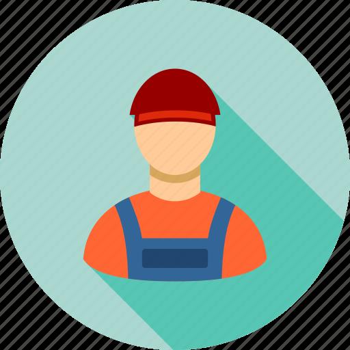 business, job, mechanic, person, serviceman, work, worker icon