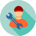 employee, mechanic, professional, repairman, serviceman, technician, worker icon